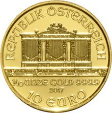 2017 Tenth Ounce Gold Austrian Philharmonic