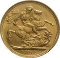 1902 Gold Sovereign - King Edward VII - S
