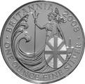 2008 1oz Silver Britannia Coin