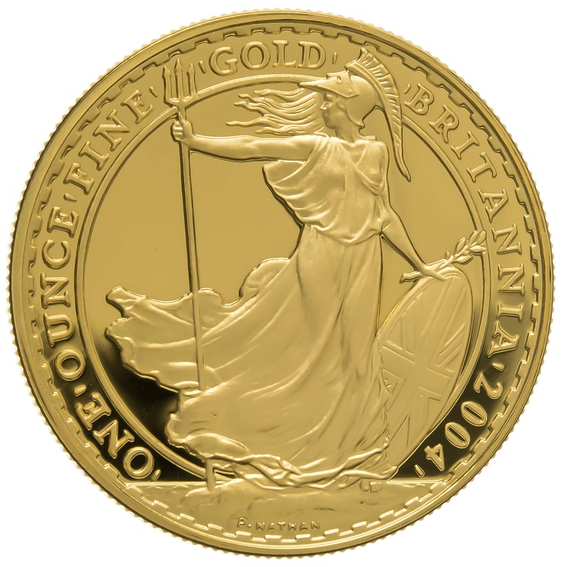 2004 One Ounce Proof Britannia Gold Coin
