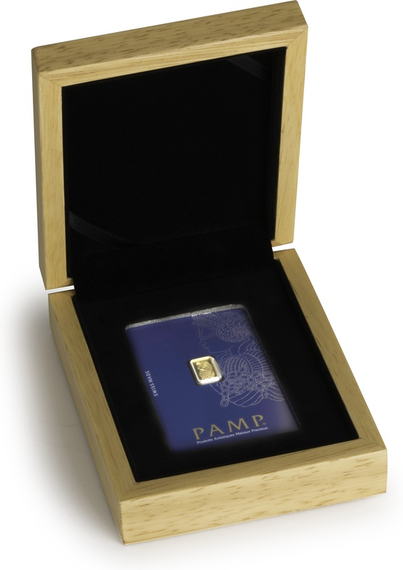 PAMP 1 Gram Gold Bar Gift Boxed
