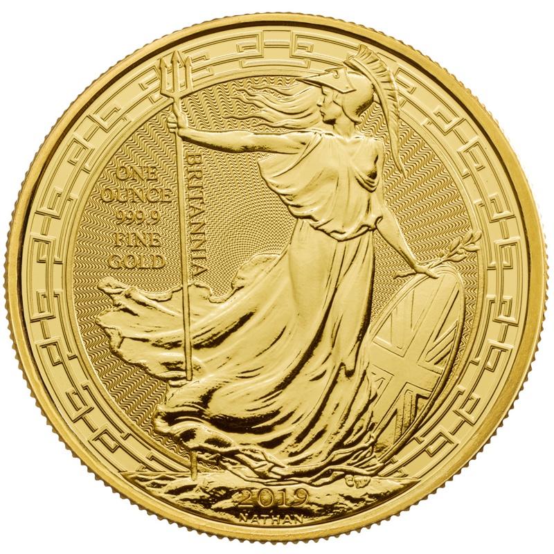 2019 1oz Gold Britannia (Oriental Border) Coin