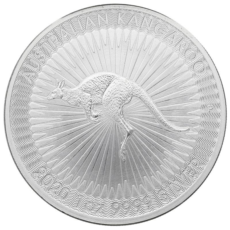 2020 1oz Silver Australian Kangaroo Coin