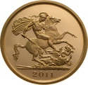 2011 - Gold £5 Proof Coin (Quintuple Sovereign)