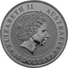 2013 1kg Kilo Silver Kookaburra Coin