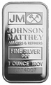 Johnson Matthey 1oz Silver Bar
