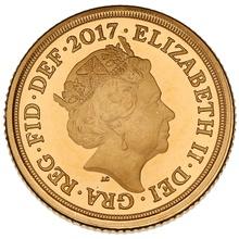 2017 Proof Quarter Sovereign