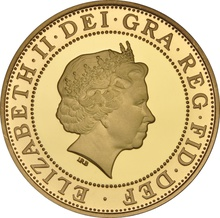 2007 £2 Two Pound Proof Gold Coin: 300th Anniversary of the Act of Union Boxed