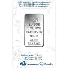1oz Silver Bar - Grade B