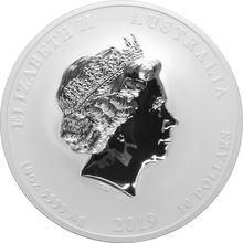 2019 10oz Australian Lunar Year of the Pig Silver Coin
