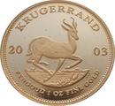 2003 1oz Gold Proof Krugerrand