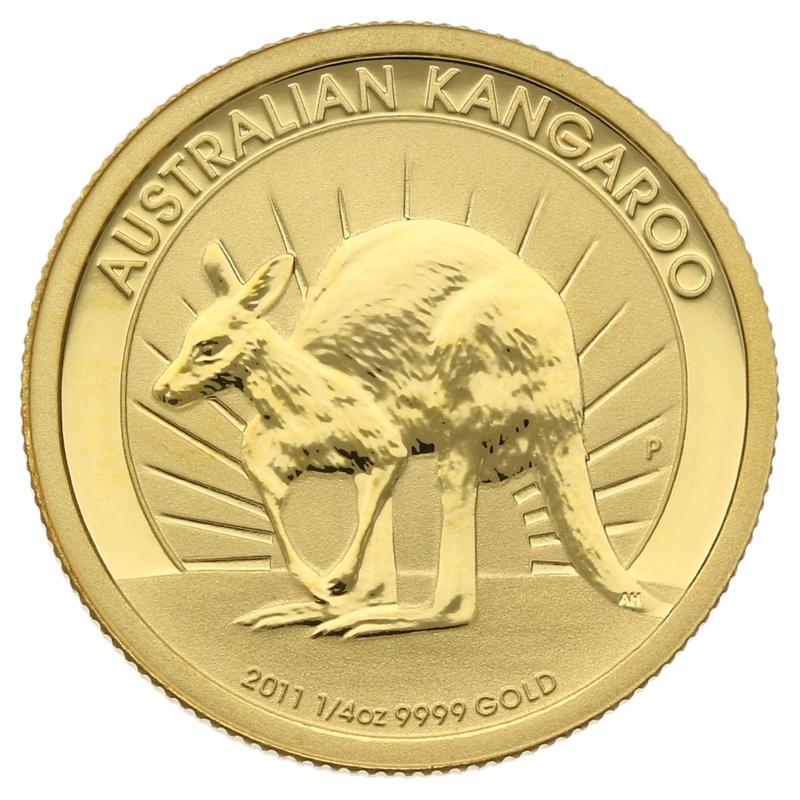 2011 Quarter Ounce Gold Australian Nugget