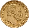 20 Mark German - Wilhelm I 1871 - 1888