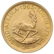 1965 2R 2 Rand coin South Africa