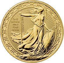 2020 1oz Gold Britannia (Oriental Border) Coin