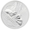 2020 1/2oz Perth Mint Year of the Mouse Silver Coin