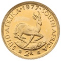 1977 2R 2 Rand coin South Africa