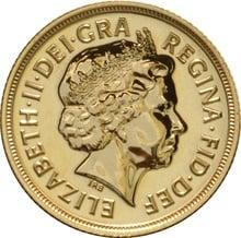 2005 Gold Sovereign - Elizabeth II Fourth Head