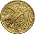 1987 Bicentenary of the Constitution - American Gold Commemorative $5