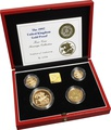 1997 Gold Proof Sovereign Four Coin Set Boxed