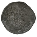1307-1327 Edward II Silver Penny. Durham. Class 12