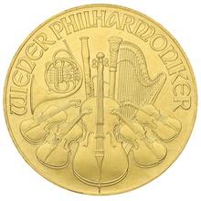 1992 1oz Austrian Gold Philharmonic Coin