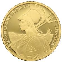 2015 Half Ounce Proof Britannia Gold Coin