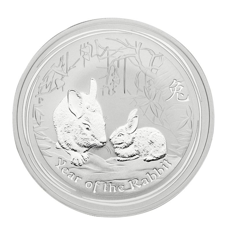 2011 1oz Australian Lunar Year of the Rabbit Silver Coin