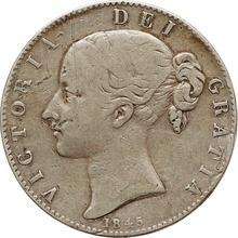 1845 Victoria Young Head Crown - Fine