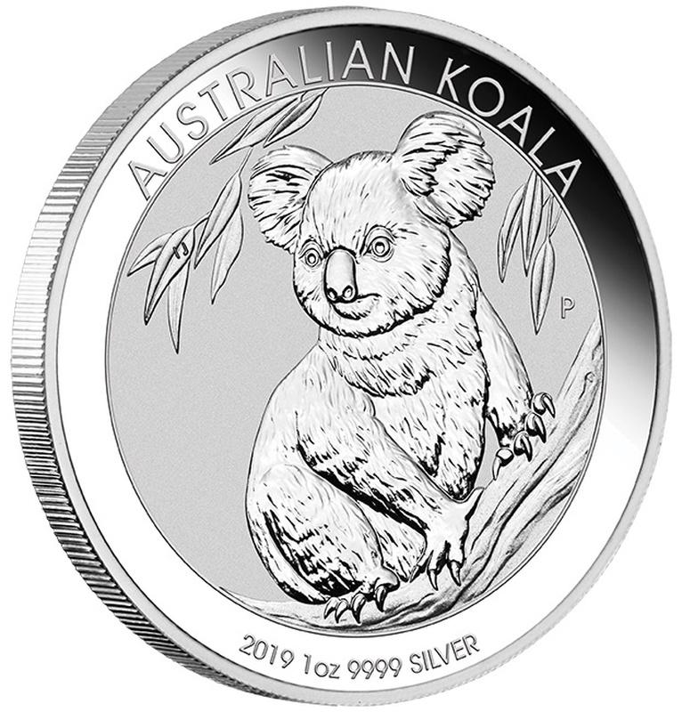 2019 1oz Silver Australian Koala