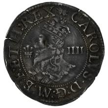 1638-42 Charles I Silver Groat Aberystwyth Mint