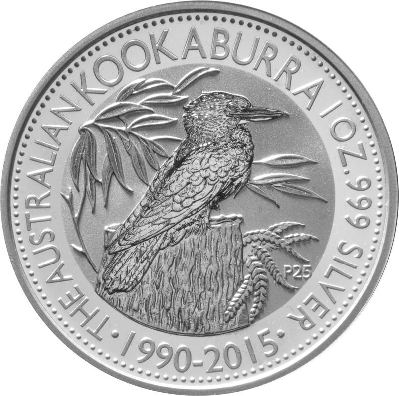 2015 1oz Silver Kookaburra