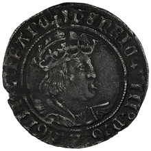 1526-44 Henry VIII Silver Groat mm Arrow