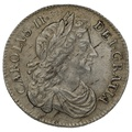 1684 Charles II Silver Sixpence