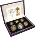 1993 Gold Proof Sovereign Four Coin Set - Pistrucci Centenary Collection Boxed