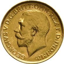 1913 Gold Sovereign - King George V - P