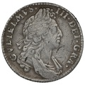 1697 William III Shilling - Very Fine