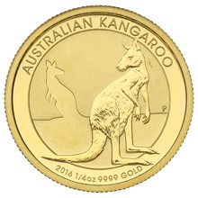2016 Quarter Ounce Gold Australian Nugget