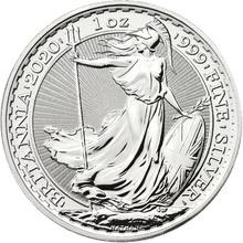 Silver Britannia Full Monster Box