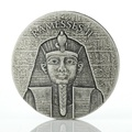 2017 Pharaoh Ramesses II 2oz Silver Coin Boxed