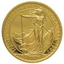 1992 Half Ounce Proof Britannia Gold Coin