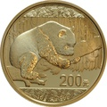 2016 15 gram Gold Chinese Panda Coin-200 Yuan