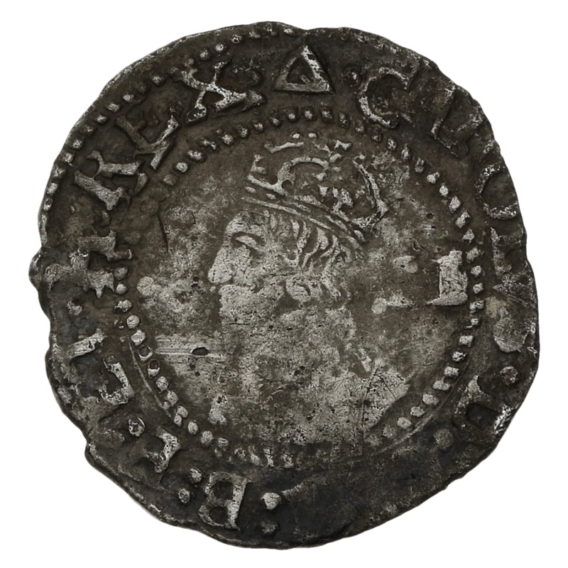 1639-40 Charles I Silver Twopence - mm Triangle