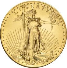 1998 1oz American Eagle Gold Coin