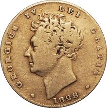 George IV 1828 Half Sovereign