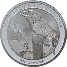 2016 1oz Silver Kookaburra