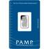 PAMP 2.5 Gram Platinum Bar Minted