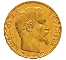 1859 20 French Francs - Napoleon III Bare Head - A