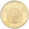 1997 Proof Roosevelt - American Gold Commemorative $5