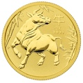 2021 Perth Mint Quarter Ounce Year of the Ox Gold Coin